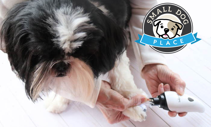 Lucky-tail-dog-nail-grinder-review-by-small-dog-place